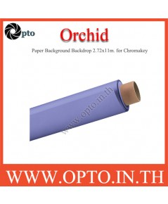 Orchid Paper Background Backdrop 2.72x11m. for Chromakey ฉากกระดาษสีม่วงอ่อน Seamless Paper