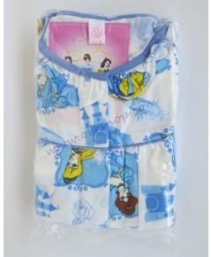 ชุดนอนเด็ก ไซส์เด็กจิ๋ว (6 M) แขนสั้น ขายาว ผ้ายืด (แบบคอระบายกุ๊น กระดุมผ่าหน้า) คลิกดูรายละเอียด