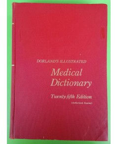 DORLAND\'S ILLUSTRATED Medical Dictionary
