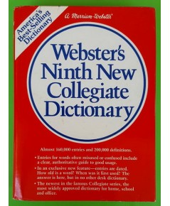 Webster\'s Ninth New Collegiate Dictionary