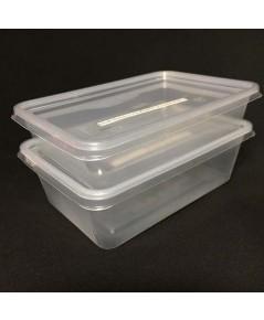 กล่องใส่ข้าวพร้อมฝา (Rice box with lid) บรรจุ 50-100 ชิ้นต่อ Pack