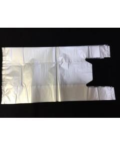 ถุงหิ้วเนื้อขาวขุ่น HDPE (HDPE T-shirt bag) บรรจุ 0.5 กก.ต่อแพค