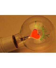 หลอดไฟรูปหัวใจ