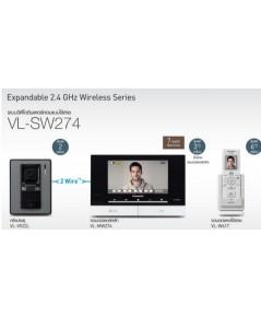 Panasonic วิดีโออินเตอร์คอมพานาโซนิค VL-SW274BX