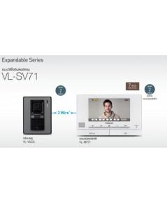 Panasonic วิดีโออินเตอร์คอมพานาโซนิค VL-SV71BX