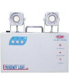 เครื่องสำรองไฟ โคมไฟฉุกเฉิน  Emergency Light DLEM-238L10 12V 7.5A  สำรองไฟได้ 10 ชม. ราคา 2,015.-