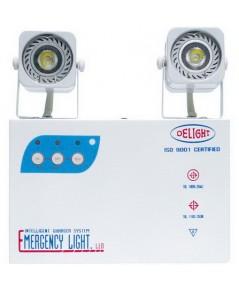 เครื่องสำรองไฟ โคมไฟฉุกเฉิน DLEM-203L3  2x3.8 W. LED ขนาด : 220x75x235 มม.
