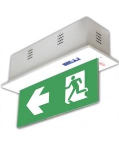 ป้ายไฟทางออก LED DLEX-B3LED แบบกล่อง แบบ 2 หน้า