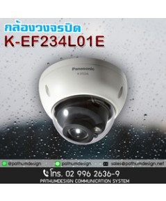 K-EF234L03E 2 Megapixel 1080p Weatherproof Dome Camera Equipped with IR LED