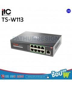 TS-W113 POE 100M