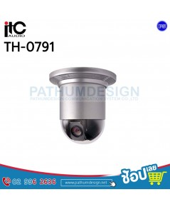 TH-0791 High Speed Preset Sphere Head Vidicon(Flushmount)