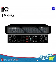 TA-H6 Professional Stereo Power Amplifier