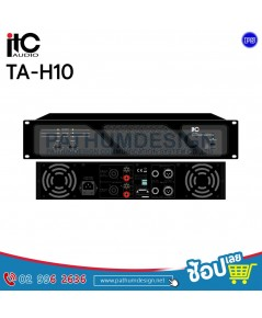TA-H10 Professional Stereo Power Amplifier
