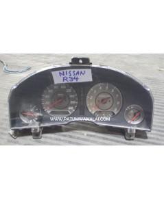 จอไมล์ NISSAN SKYLINE R34 GTT  ปี 1998-2002