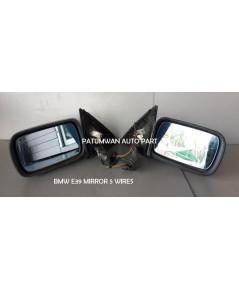 กระจกมองข้าง BMW Series 5 E39 (บีเอ็มดับบลิวยู ซีรี่ย์ 5) 5สาย ปรับ-พับไฟฟ้า