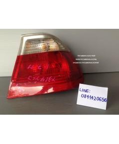 ไฟท้าย BMW (บีเอ็มดับบลิวยู) E46/2 รุ่นตายก ขาว-แดง ข้างขวา