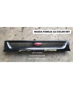 หน้ากระจัง Mazda 323 Familia color key (มาสด้า แฟมมิลี่ 323) ปี 1985-1989