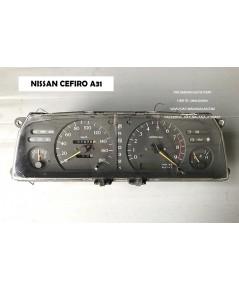 จอไมล์ Nissan Cefiro A31 (นิสสัน เซฟิโร่) เกียร์ออโต้ จอเข็ม วัดรอบ x9000