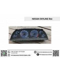 จอไมล์ Nissan Skyline R32 (นิสสัน สกายไลน์) จอเข็ม เกียร์ออโต้ x9000