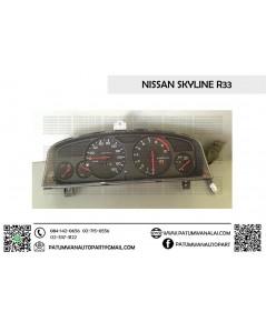 จอไมล์ Nissan Skyline R33 (นิสสัน สกายไลน์) จอเข็ม เกียร์ออโต้ x10000