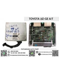 กล่องควบคุมเครื่อง ECU Toyota (โตโยต้า) เครื่อง 2JZ-GE A/T AB เกียรออโต้ ป้ายดำ 89661-3A140