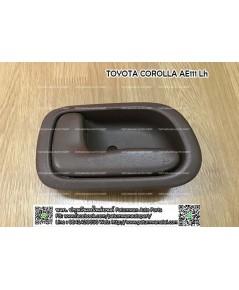 มือเปิดประตูใน Toyota Corolla AE111 (โตโยต้า โคโรล่า ตองหนึ่ง) บานหน้าซ้าย F/Lh