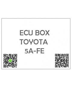 กล่องควบคุมเครื่อง ECU Toyota (โตโยต้า) เครื่อง 5A-FE เกียรออโต้ ป้ายส้ม/ป้ายดำ