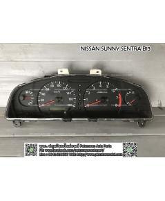 จอไมล์ เกียรออโต้ Nissan Sunny (นิสสัน ซันนี่) B13 ตั้งไมล์ดิจิตอล หน้าดำ วัดรอบ