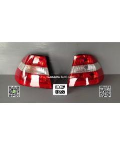 ไฟท้าย BMW E46/2 รุ่นตาตก ไฟเลี้ยวอยู่กลาง แดง-ขาว-แดง