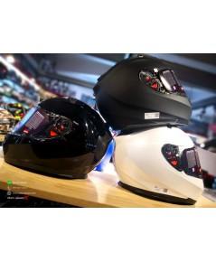 หมวกกันน็อค Real T HAWK สีพื้น (New Model)