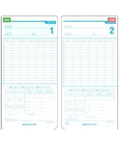 บัตรตอก MAX ER-M Time Card (20 แพ็ค)