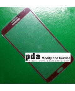 กระจกกันหน้าจอ Original red Screen glass lens Samsung Galaxy Note3 N9000