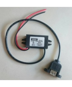 Adapter charge 12volt to 5volt 3A