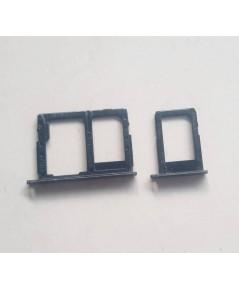 ถาดใส่ซิม ใส่เมม SAMSUNG J7 Prime SM-G610F มือสองสีน้ำเงิน