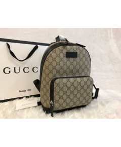Gucci GG Supreme small backpack