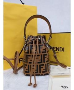 Fendi Mon Tresor Small FF Bucket Bag