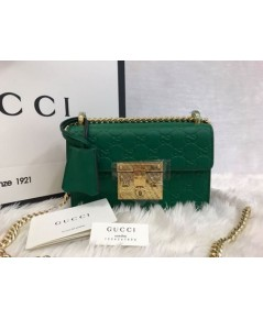 Padlock small Gucci Signature shoulder bag