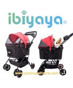 Ibiyaya รถเข็นสัตว์เลี้ยง Pet Buggy Rouge