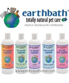 Earthbath แชมพูสำหรับสุนัขและแมว มี 5 สูตรค่ะ