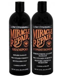 Christensen Miracle Repair แชมพู ครีมนวด ฟื้นฟูซ่อมแซมขนทีเสีย