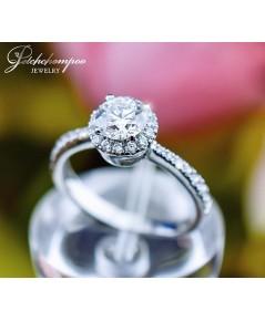 แหวนเพชร Premium Size 0.81 กะรัต GIA G VS1 3EX