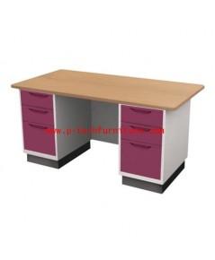 โต๊ะทำงานเหล็ก รุ่น BS-156
