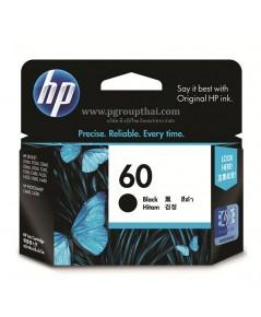 หมึกอิงค์เจ็ท HP 60 BK (CC640WA) ดำ