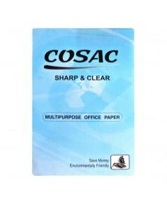 กระดาษถ่ายฯ A4 70G. COSAC ห่อฟ้า 5 กล่อง (5รีม/กล่อง)