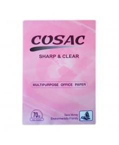กระดาษถ่ายฯ A4 70G. COSAC ห่อชมพู 1 กล่อง (5รีม/กล่อง)