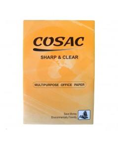 กระดาษถ่ายฯ A4 80G. COSAC ห่อส้ม 5 กล่อง (5รีม/กล่อง)