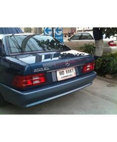 Benz sl500 ปี 1992 สีน้ำเงิน หลังคาแข็งอ่อนครบ สภาพสวยไม่มีชน รถธนบุรี ชุดแต่งแม็กซ์18Amg