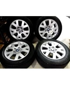5,500/4วง ล้อแท้ BMW 16 นิ้ว ใส่ซีรีย์ 3 พร้อมยาง Dunlop 215 55 16 ปี17 ไม่มีซ่อม ตจว จัดส่งฟรี  -โท