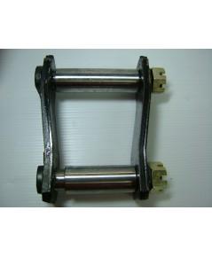 โตงเตงบุชเหล็กแบบแท้ MITSUBISHI CYCLONE 6 นิ้ว อัดจารบี (0912002) (ราคาต่ออัน)