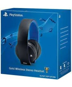 PS4 Official Gold Wireless Stereo Headset